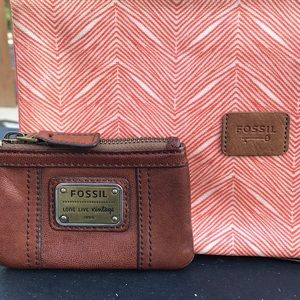 Fossil clutch/coin purse